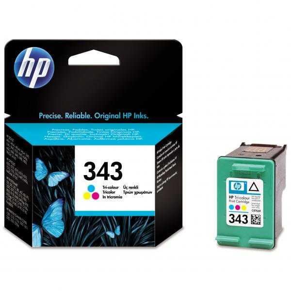 originál HP 343 (C8766EE) color barevná cartridge originální inkoustová náplň pro tiskárnu HP OfficeJet 100
