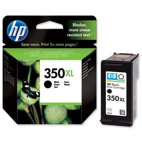 originál HP 350XL (CB336EE) black černá cartridge originální inkoustová náplň pro tiskárnu HP Photosmart C4380
