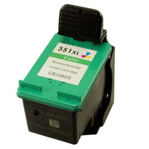 HP 351XL (CB338EE) color barevná cartridge kompatibilní inkoustová náplň pro tiskárnu HP Photosmart C4380