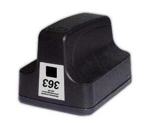 HP363 (C8719EE) black cartridge černá inkoustová kompatibilní náplň pro tiskárnu HP Photosmart C5180