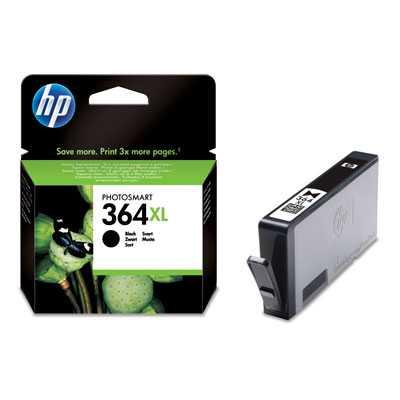 originál HP 364XL-BK (CN684EE) black černá originální cartridge pro tiskárnu HP Photosmart Premium E AIO