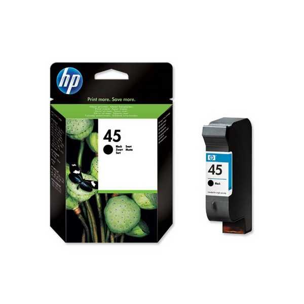 originál HP45 (51645A) black černá cartridge originální inkoustová náplň pro tiskárnu HP Color Copier 280