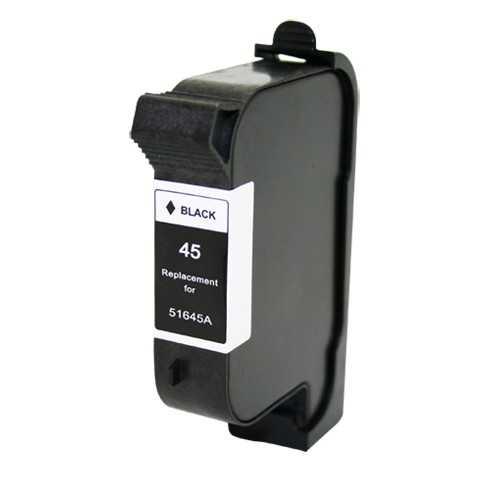 HP45 (51645A) black černá cartridge kompatibilní inkoustová náplň pro tiskárnu HP Color Copier 280