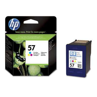 originál HP57 (C6657AE) color barevná cartridge originální inkoustová náplň pro tiskárnu HP HP 57 (C6657A)