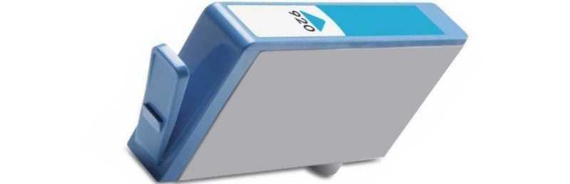 HP 920XL (CD972A) cyan azurová modrá kompatibilní inkoustová cartridge pro tiskárnu HP OfficeJet 6500 Wireless