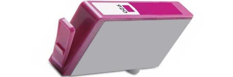 HP 920XL (CD973A) magenta purpurová červená kompatibilní inkoustová cartridge pro tiskárnu HP OfficeJet 6500 Wireless