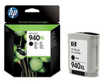 originál HP 940XL (C4906AE) black černá originální inkoustová cartridge pro tiskárnu HP OfficeJet Pro 8500a Plus