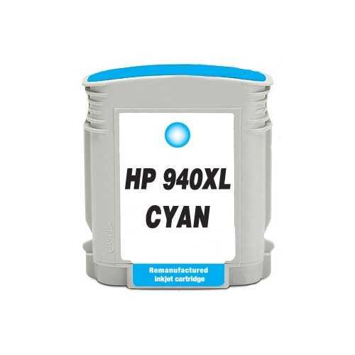 HP 940XL (C4907AE) cyan azurová modrá kompatibilní inkoustová cartridge pro tiskárnu HP OfficeJet Pro 8500a Premium
