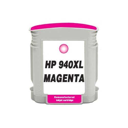 HP 940XL (C4908AE) magenta purpurová červená kompatibilní inkoustová cartridge pro tiskárnu HP OfficeJet Pro 8500a Premium