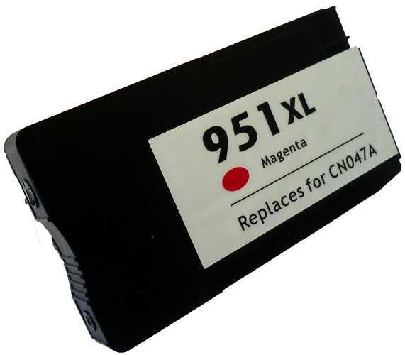 HP 951XL (CN047AE) magenta purpurová červená kompatibilní inkoustová cartridge pro tiskárnu HP OfficeJet Pro 276dw