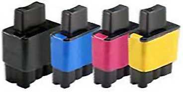 sada Brother LC-900 cartridge kompatibilní inkoustová náplň pro tiskárnu Brother Brother LC-900/LC-950