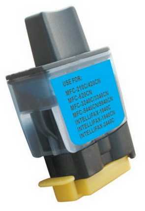 Brother LC900C/LC950C modrá cyan azurová barva kompatibilních náplní pro tiskárnu Brother Brother LC-900/LC-950