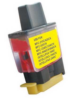 Brother LC900Y/LC950Y yellow cartridge žlutá inkoustová kompatibilní náplň pro tiskárnu Brother Brother LC-900/LC-950