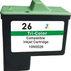 Lexmark #26 10N0026 color barevná inkoustová kompatibilní cartridge pro tiskárnu Lexmark X1110