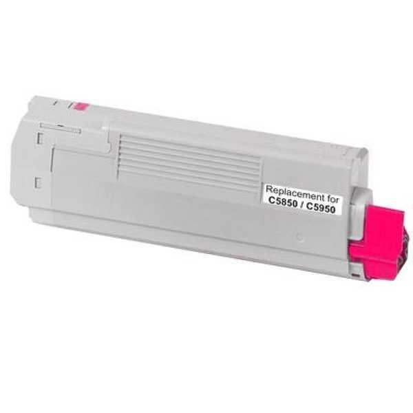 OKI 43324422 magenta purpurový červený kompatibilní toner pro tiskárnu OKI C5550MFP