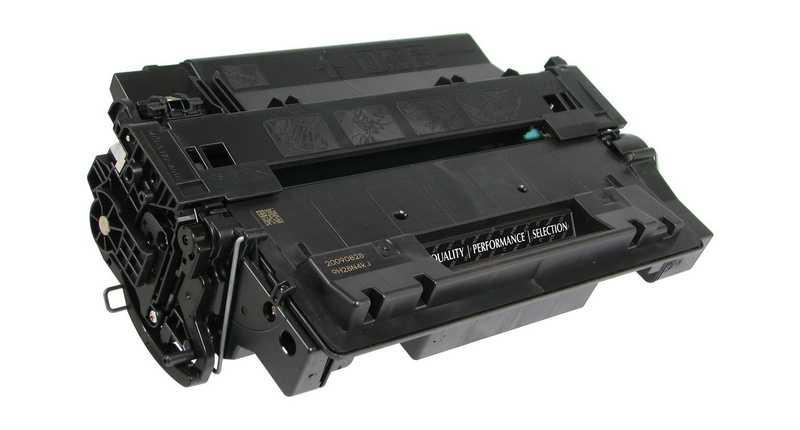 4x toner HP 55X, HP CE255X black černý kompatibilní toner pro tiskárnu HP LaserJet P3015dn