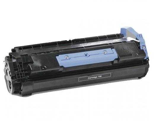 4x toner Canon CRG-706 (5000 stran) black černý kompatibilní toner pro tiskárnu Canon MF6550