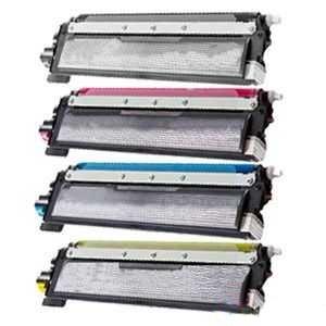 2x sada tonerů Brother TN-230BK, TN-230C, TN-230M, TN-230Y- 8x kompatibilní tonery pro tiskárnu Brother