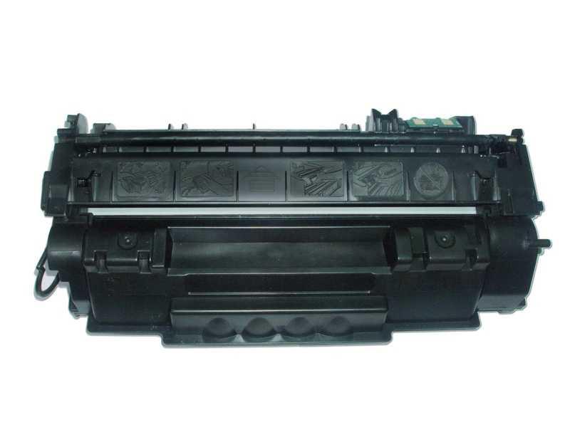 2x toner Canon CRG-715 (3000 stran) černý kompatibilní toner pro tiskárnu Canon LBP3370