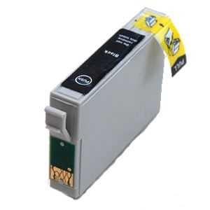 4x Epson T1281 black cartridge černá kompatibilní inkoustová náplň pro tiskárnu Epson Stylus SX435W