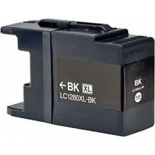4x Brother LC-1280XLBK black černá kompatibilní inkoustová cartridge pro tiskárnu Brother