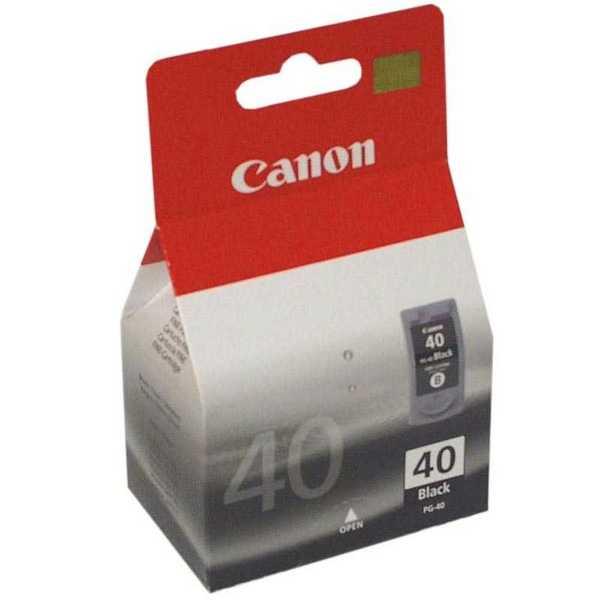 originál Canon PG-40 black cartridge černá originální inkoustová náplň pro tiskárnu Canon PIXMA MX300