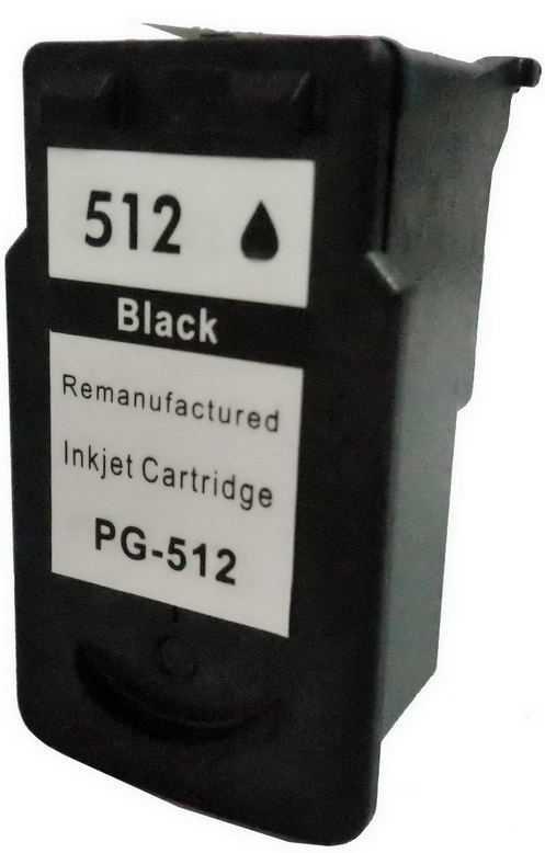 Canon PG-512 black černá kompatibilní cartridge inkoustová náplň pro tiskárnu Canon PIXMA MP250