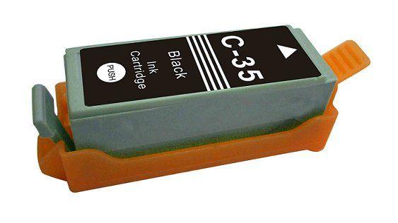 Canon PGi-35 black cartridge černá kompatibilní inkoustová náplň pro tiskárnu Canon PIXMA IP100 Portable