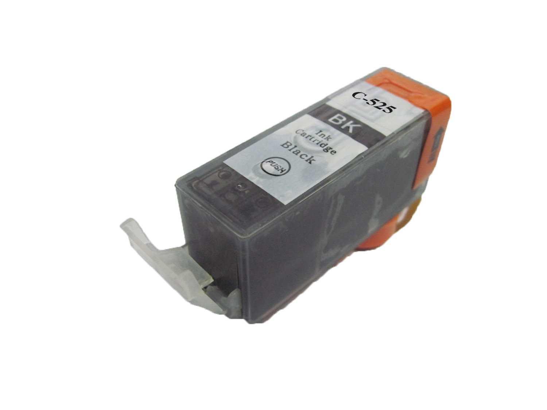 Canon PGI-525bk black cartridge černá kompatibilní inkoustová náplň pro tiskárnu Canon PIXMA IX6550