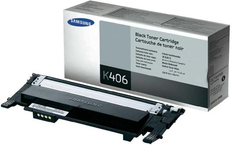 originál Samsung CLT-K406S black černý originální toner do tiskárny Samsung Xpress SL-C467W