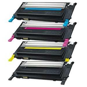 sada 4x toner Samsung CLT-P4092C (CLT-K4092S, CLT-C4092S, CLT-M4092S, CLT-Y4092S) kompatibilní tonery pro tiskárnu Samsung CLX3175FN