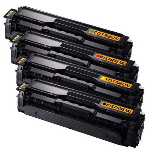 sada Samsung CLT-P504S (CLT-K504S, CLT-C504S, CLT-M504S, CLT-Y504S) kompatibilní tonery pro tiskárnu Samsung SL-C1860FW