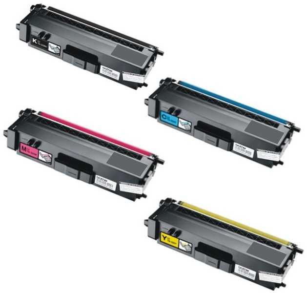 sada tonerů Brother TN-325BK, TN-325C, TN-325M, TN-325Y - 4x kompatibilní tonery pro tiskárnu Brother