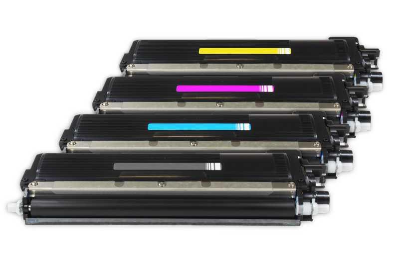 sada tonerů 4x Brother TN-230BK, TN-230C, TN-230M, TN-230Y kompatibilní tonery pro tiskárnu Brother