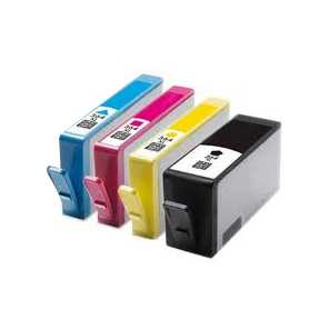 sada 4x HP 364XL (HP364XL BK, HP364XL C, HP364XL M, HP 364XL Y) kompatibilní inkoustové cartridge pro tiskárnu HP Photosmart Plus B209a