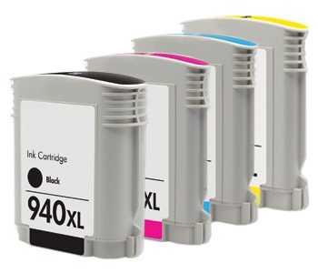 sada HP 940XL kompatibilní inkoustové cartridge pro tiskárnu HP OfficeJet Pro 8500a Premium