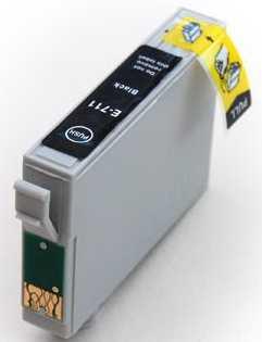 sada 3x Epson T0891 - 3 kusy black cartridge černé kompatibilní inkoustové náplně pro tiskárnu Epson Stylus SX115