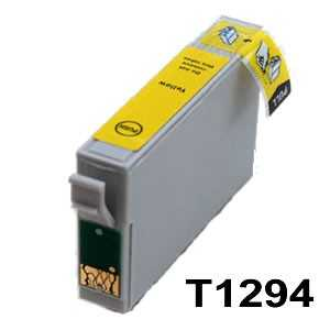 Epson T1294 yellow cartridge žlutá kompatibilní inkoustová náplň pro tiskárnu Epson Stylus SX430W