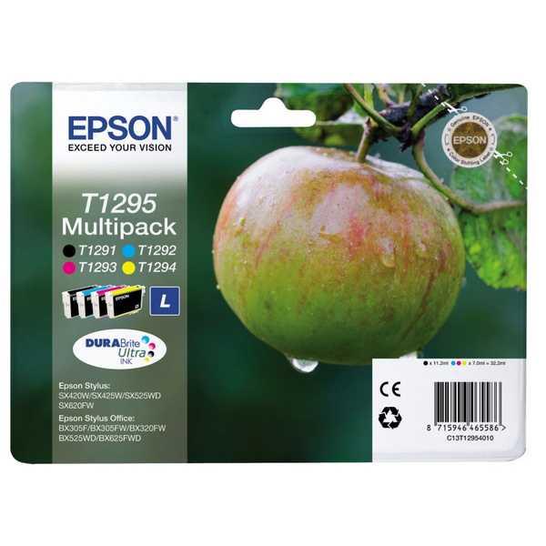 originální sada Epson T1295 cartridge originální inkoustové náplně pro tiskárnu Epson WorkForce WF3540DTWF