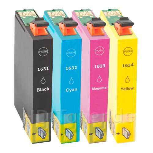 sada Epson 16XL - T1636 (T1631, T1632, T1633, T1634) kompatibilní cartridge inkoustové náplně pro tiskárnu Epson