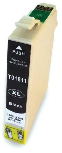 Epson T1811XL black cartridge černá kompatibilní inkoustová náplň pro tiskárnu Epson Expression Home XP405WH