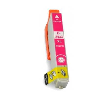 Epson T2433 T24XL magenta cartridge purpurová červená kompatibilní inkoustová náplň pro tiskárnu Epson
