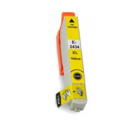 Epson T2434 T24XL yellow cartridge žlutá kompatibilní inkoustová náplň pro tiskárnu Epson