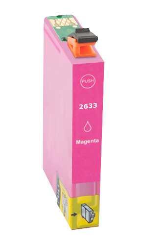 Epson T2633 - 26XL magenta cartridge purpurová červená kompatibilní inkoustová náplň pro tiskárnu Epson Expression Premium XP810