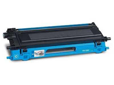 Brother TN-135C cyan (azurový) kompatibilní toner pro tiskárnu Brother